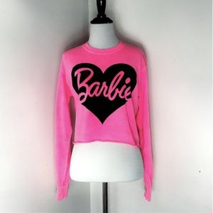 Hot Pink Barbie Crop Top